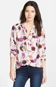 scarf blouse scarf tie blouse regular nordstrom