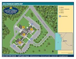 Florida Lighthouses Map by Gulf Coast State College Campus Maps