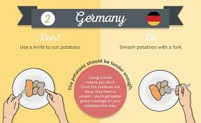 infographic 10 curious dining customs around the world designtaxi