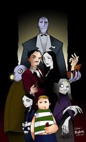 Berk Meme - an untitled addams family portrait by berk ozturk macabre