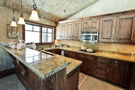Kitchen Countertop Design Ideas Magnificent Granite Countertops And Tile Backsplash Ideas Eclectic
