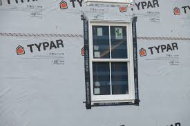 how to install house wrap around a window ted u0027s energy tips