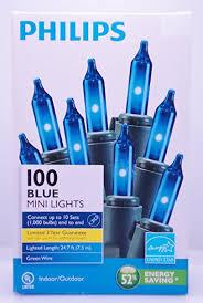 phillips blue mini lights string light set home kitchen