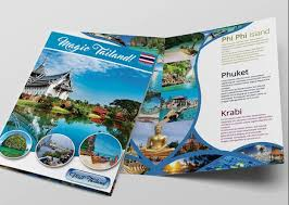 12 attention grabbing bi fold brochure free psd templates