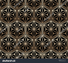 seamless tiled pattern japanese traditional lattice stock vector