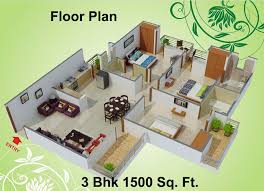 Small House Plans Under 1500 Sq Ft 1500 Sq Ft 3 Bhk 3t Apartment For Sale In Charms India Castle Raj