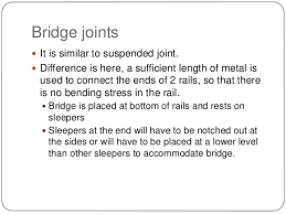 Common Types Of Wood Joints And Their Variations by Rails Types Joints Creep Failure Of Rails And Welding Of Rails