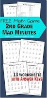 mad minutes addition worksheets google search learning stuff