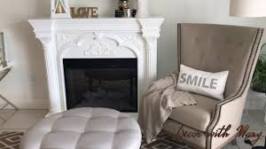 how to decorate my fireplace home decor design living room