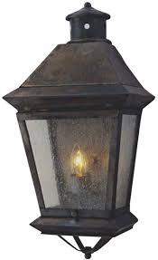Lantern Wall Sconce Brookfield Electric Copper Lantern Wall Sconce For Sale