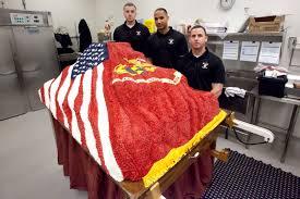 marines make super cake for cmc ball u003e marine barracks u003e news