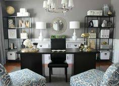 Home Office Decor Copy Cat Chic Room Redo Serene Home Office Home Decorating