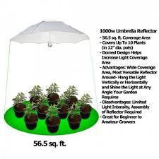 1000 watt hps light yield lab 1000 watt umbrella hps and mh grow light kit grow light