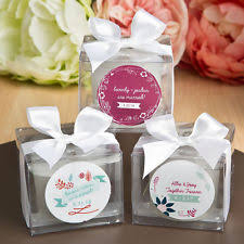 personalized candle wedding favors personalized wedding candles ebay