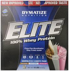 Dymatize Elite Whey 10 Lbs dymatize elite whey protein isolate neopolitan variety pack 10 lbs