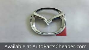 new mazda logo new oem 1998 2005 mazda miata mx5 chrome rear trunk emblem badge