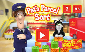postman pat parcel sort playerthree