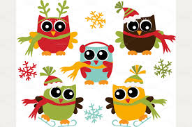 owl christmas clipart christmas owls christmas ideas