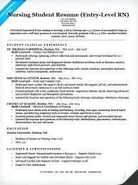 resume entry level nursing resume objective examples student