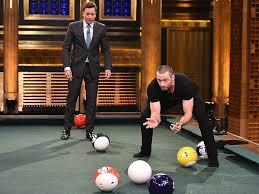 life size pool table hugh jackman on jimmy fallon tonight show people com