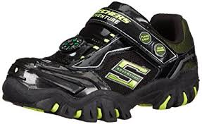 skechers light up shoes on off switch amazon com skechers kids damager ii adventurer light up sneaker