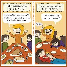 the comic that parents need to see before they embark on thanksgiving