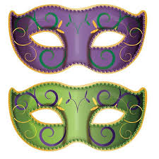 mardi gras masks and jumbo mardi gras mask cutouts shindigz