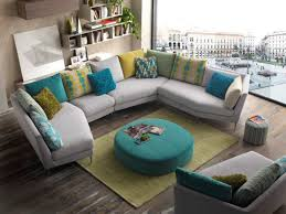 choix canapé canape d angle design pied alu coussins de couleur au choix grande