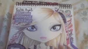 fashion angels beauty design sketch portfolio youtube