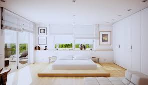 chambre à coucher blanche decoration chambre coucher blanche