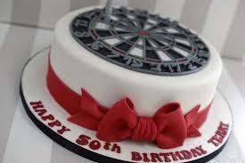 dartboard 50th birthday cake bakealous