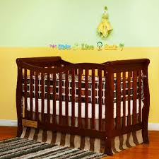 Brookline Convertible Crib Afg Baby Convertible Crib W Toddler Rail In Cherry Beyond
