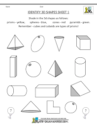 bunch ideas of geometry for 2nd graders worksheets in free