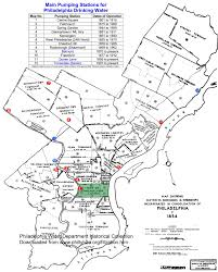 Map Of Philly Philly H2o 100th Anniversay Of Water Filtration In Philadelphia