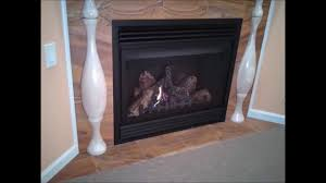 overview of a gas log fireplace youtube