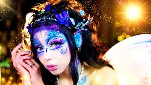 halloween face decals halloween makeup ideas 17 magical fairy makeup tutorials today com