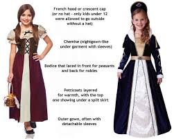 costume for kids renaissance and costumes