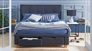 Domayne Bed Frames Halo Bed Frame With Storage Charcoal Domayne