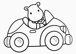 coloriage voiture enfant les beaux dessins de transport à