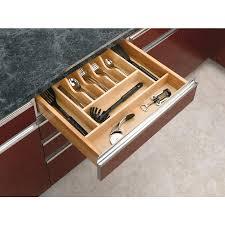 shop rev a shelf 22 in x 20 62 in wood cutlery insert drawer