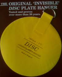 the original invisible adhesive plate hanger disc plate hangers