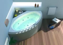 badezimmer mit eckbadewanne eckbadewanne mit whirlpool wellness lösung auch für kleine badezimmer