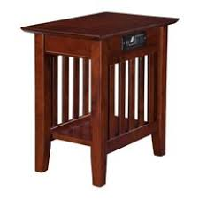 end table with outlet desk power outlet side end tables houzz