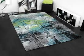 Blau F Schlafzimmer Designer Teppich