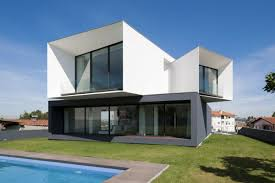 level house modern multi level house in portugal captures snapshots of its