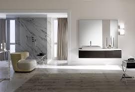 interior design art deco bathroom black white gray
