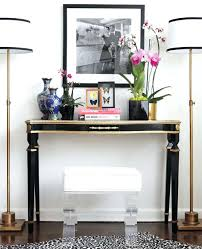 Console Entry Table Entryway Console Table White And Oak Entryway Console Table Decor