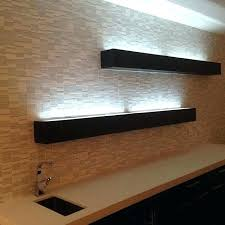 shelf with lights underneath elegant floating shelves with lights underneath or rustic reclaimed