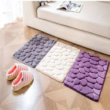 Bathroom Memory Foam Rugs 40 60cm Coral Fleece Bathroom Memory Foam Rug Kit Toilet Pattern