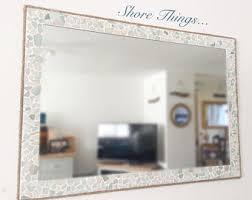 Beachy Bathroom Mirrors by Bathroom Mirror Etsy
